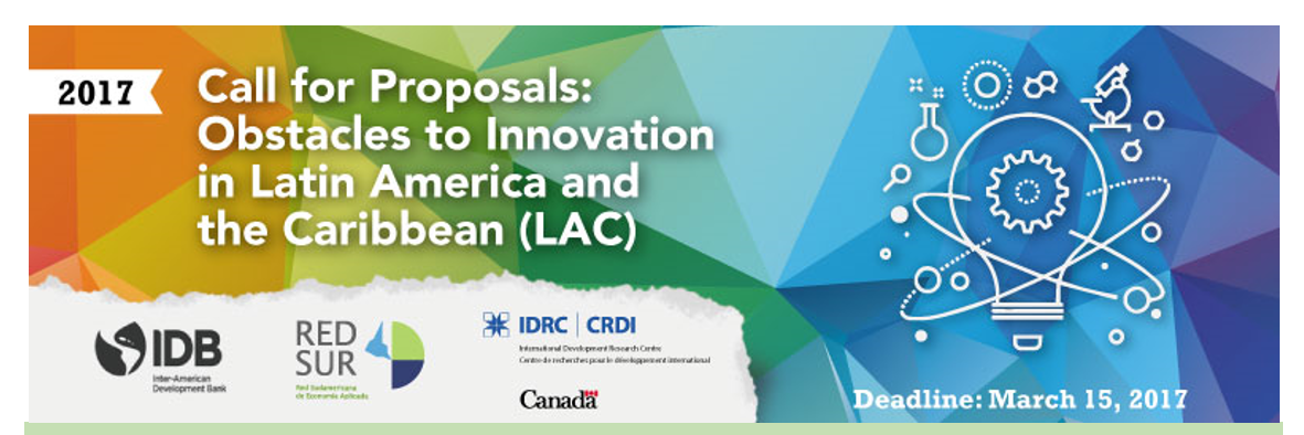 Call For Proposals Obstacles To Innovation In Lac Red Gcti