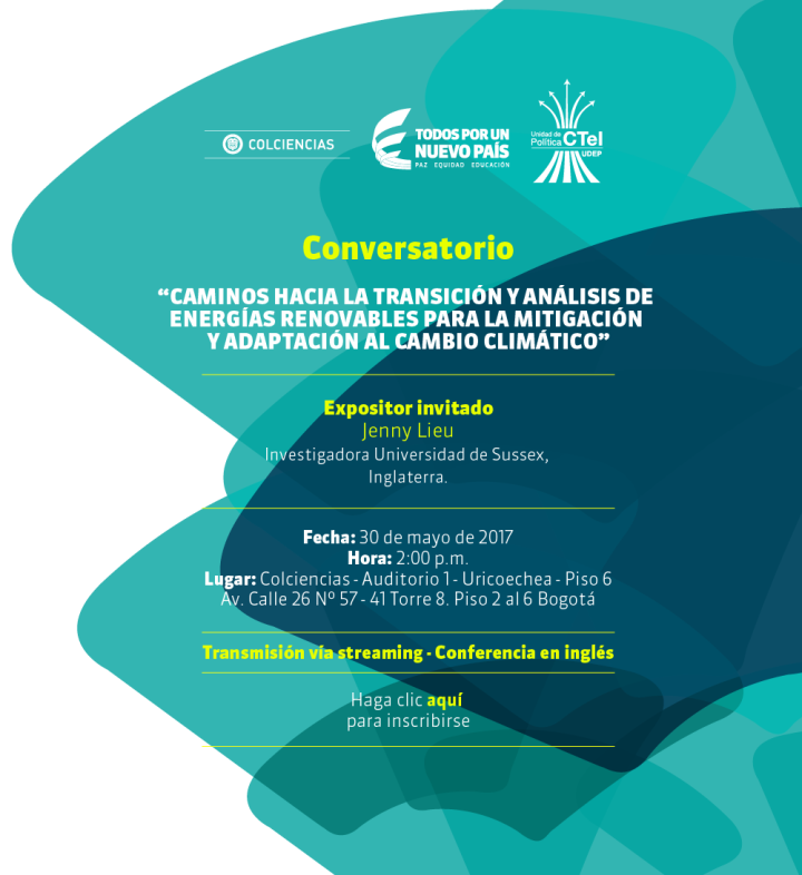 Conversatorio Políticas de Energías Renovables para Mitigación y Adaptación al Cambio Climático